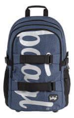 BAAGL Szkolny plecak Skate niebieski