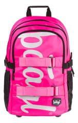 BAAGL Iskolai hátizsák Skate Pink
