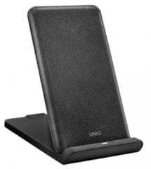 UNIQ Vertex Quick Charge stojánek pro bezdrátové nabíjení černý, UNIQ-VERTEX-GBLACK