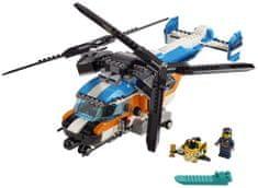 LEGO Creator 31096 Helikopter s dva rotora