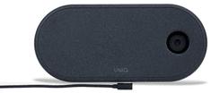 UNIQ Aereo 3v1 rychlá bezdrátová nabíječka 7.5/10W, UNIQ-AEREO3IN1(EU)-BLACK