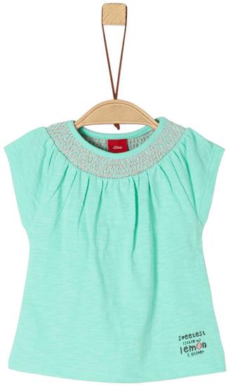 s.Oliver dievčenské tričko 62 zelená