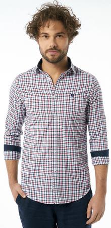 AUDEN CAVILL moška srajca, S, bordo rdeča