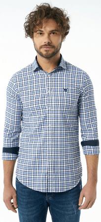 AUDEN CAVILL pánská košile XXL modrá