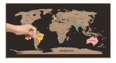 Sifcon Škrabací mapa světa