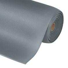 Šedá protiúnavová průmyslová rohož Sof-Tred, Gripper - 1,27 cm