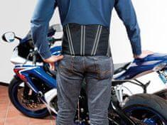 MyGear Ledvinový pás na moto na suchý zips