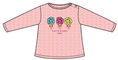 Carodel dievčenské tričko 80 ružová