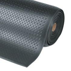 Černá protiúnavová průmyslová rohož Diamond, Sof-Tred - 1,27 cm