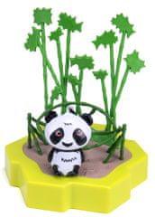 Hexbug Lil Nature Babies - Panda Lin a houpačka, malý set