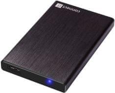 Connect IT zewnętrzna obudowa LITE, czarna (CI-1044)