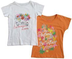Carodel komplet koszulek dziewczęcych