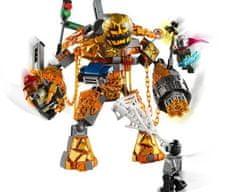 LEGO Super Heroes 76128 Boj z Molten Manom