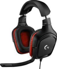 Logitech G332, fekete (981-000757)