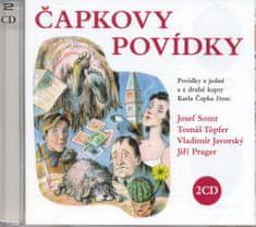 Čapek Karel: Čapkovy povídky - 2 CD