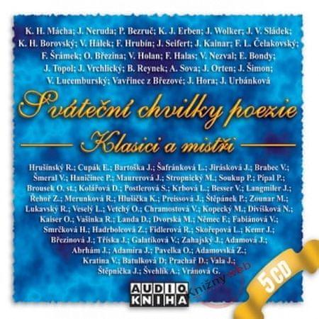 Kolektív: Sváteční chvilky poezie - Klasici a mistři - KNP-2CD