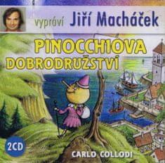 Collodi Carlo: Pinocchiova dobrodružství - 2CD