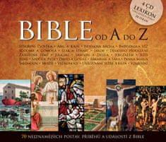 autor neuvedený: Bible od A do Z - 70 nejznámějších postav, příběhů a událostí z bible - 4CD