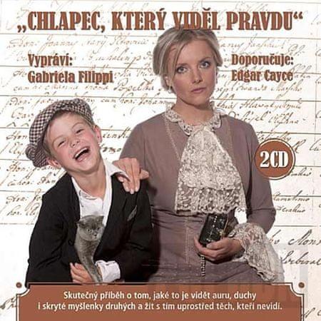 autor neuvedený: Chlapec, který viděl pravdu - 2CD (čte Gabriela Filippi)