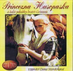 autor neuvedený: Princezna husopaska a další pohádky bratří Grimmů CD+DVD