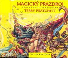 Pratchett Terry: Magický prazdroj - Úžasná audiozeměplocha