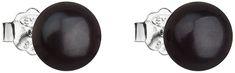 Evolution Group Strieborné náušnice s pravými perlami Pavona 21042.3 striebro 925/1000