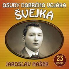 Hašek Jaroslav: Osudy dobrého vojáka Švejka - 2 CDmp3