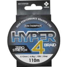Ron Thompson Splietaná Šnúra Hyper 4 Braid Grey 110 m