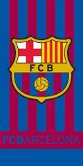 Carbotex ręcznik piłkarski FC Barcelona Stripes