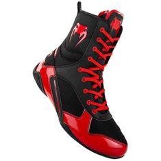 VENUM VENUM Boxerské boty ELITE - černo/červené