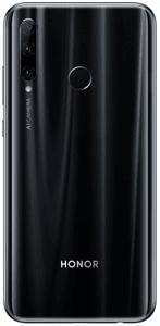 Honor 20 Lite, širokoúhlý trojitý zadní fotoaparát, velké rozlišení, umělá inteligence.
