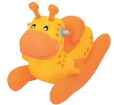 Mikro hračky Dětské nafukovací houpací zvířátko Bestway oranžové