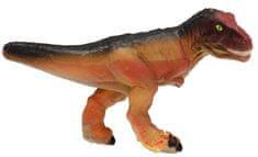 Mikro hračky zabawka - dinozaur wykluwający się z jaja MEGA 20cm, niebieski