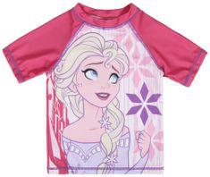 Disney dievčenské plavecké tričko Frozen
