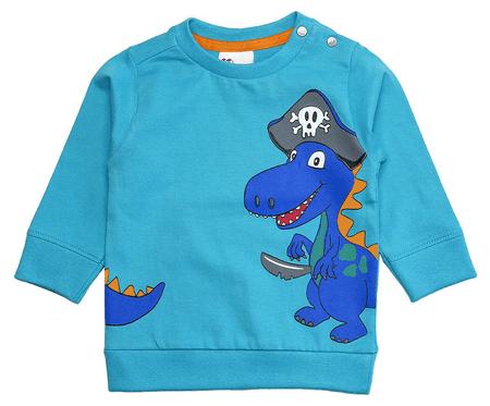 Gelati chlapecké tričko Pirates 68 světle modrá