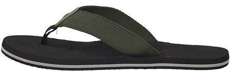 s.Oliver Férfi flip-flop papucs Olive 5-5-17205-32-720 (méret 42)