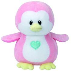 TY Baby Ty Penny - růžový tučňák 24 cm
