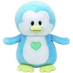 TY Baby Tie Twinkles - modrý tučniak 24 cm