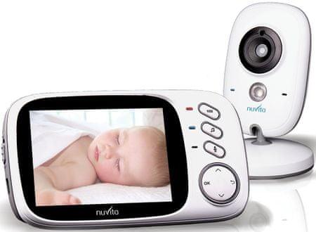 Nuvita elektronska varuška Video baby monitor