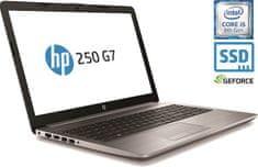 HP prijenosno računalo 250 G7 i5-8265U/8GB/SSD 256GB/MX110/15,6''FHD/FreeDOS (6EC71EA#BED)