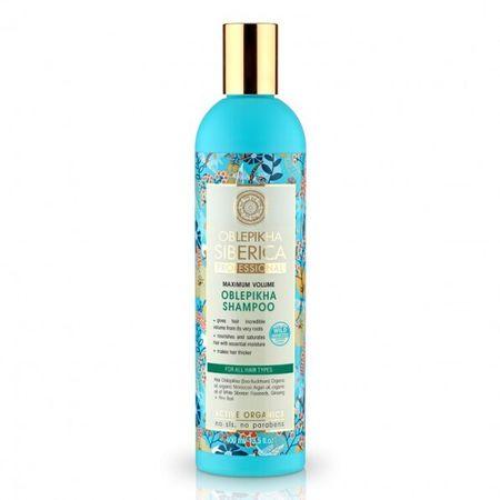 Natura Siberica Šampon iz Rakytník za največjo prostornino las (Shampoo) 400 ml