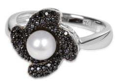 Silver Cat Srebrni prstan s kristali SC061 srebro 925/1000