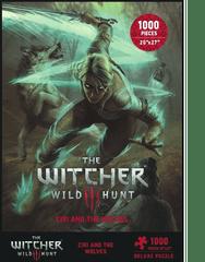 Puzzle kirakós Witcher - Ciri es a farkasok