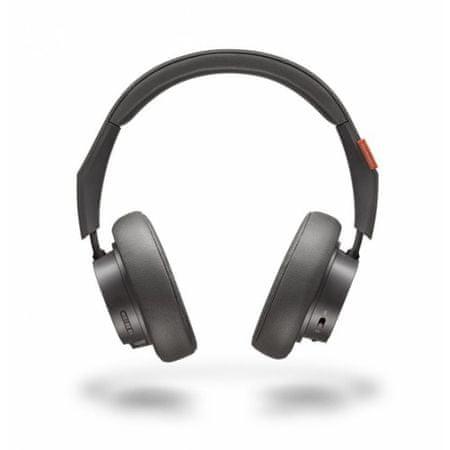 Plantronics slušalke Bluetooth Backbeat GO 600, sive