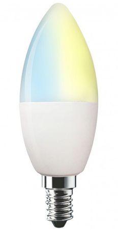 Swisstone SH320, WiFi barevná žárovka E14, 350 lm, 4,5 W