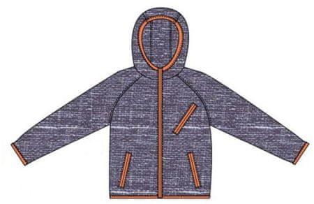 Carodel  jakna, 140, temno modra/oranžna