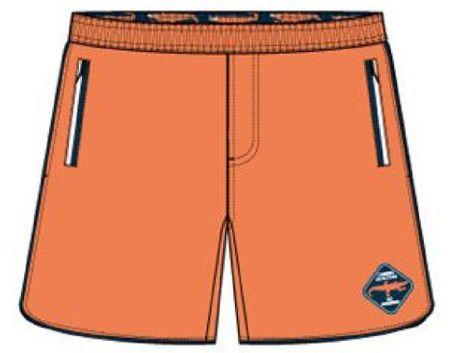 Carodel fantovske kratke hlače, 164, oranžne