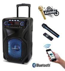 Manta Bluetooth prenosni zvočni sistem za karaoke SPK5021 HERAKLES, servisiran - Odprta embalaža
