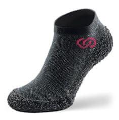 Skinners Athleisure Model Speckled Black cipőzokni