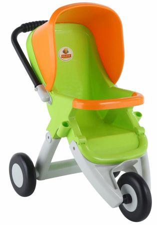 Polesie kolica za lutke, 3 kotača, zelena